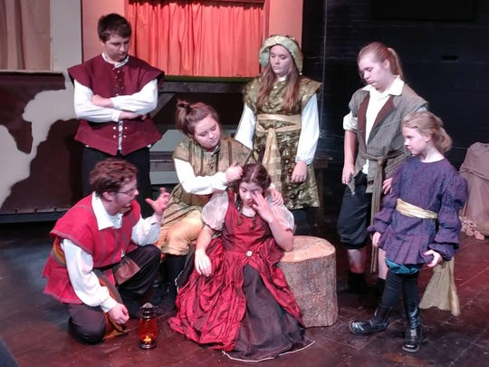 Enter Stage Right brings your favorite fairy tales to live at the Citadel Stage in downtown Port Huron. Shows are 7 p.m. Thursday and Friday and 3 p.m. Sunday. Find out how Little Snow White got even with her mother.