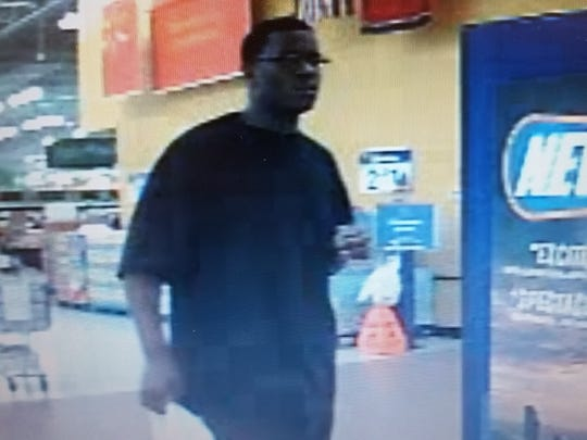 Surveillance footage from the Walmart on Charlotte Pike.