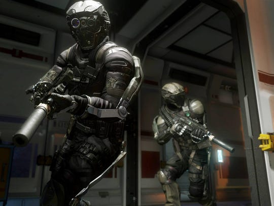 Art for the Call of Duty: Advanced Warfare video game.