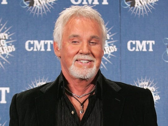 Kenny Rogers, recently, has changed his appearance.