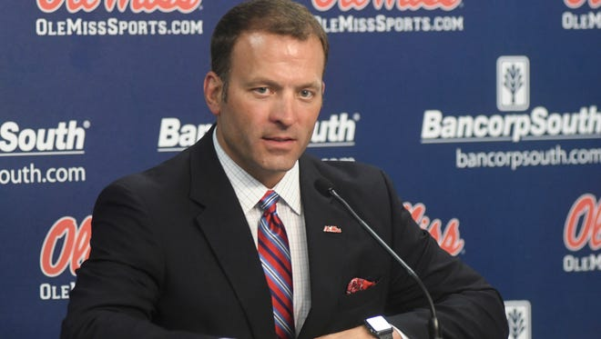Ole Miss athletic director Ross Bjork is Monday's guest speaker at the Jackson Touchdown Club.