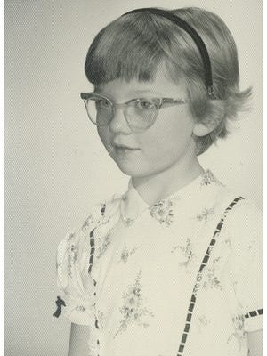 "Virginia Castleman, author of ""Sara Lost and Found,"" at age 6."