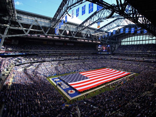 USP NFL: DETROIT LIONS AT INDIANAPOLIS COLTS S FBN USA IN