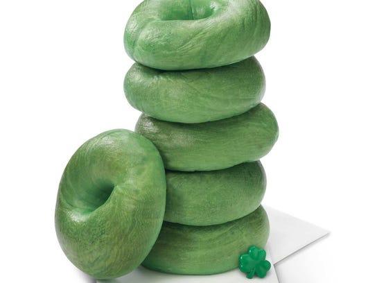 Green-Bagels