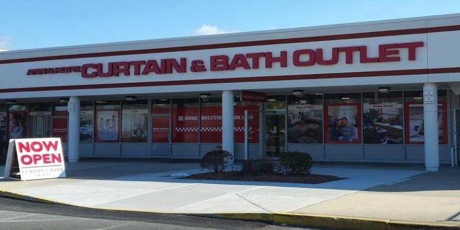 curtain bath outlets