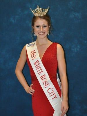 Miss White Rose City Tiffany Shorm.