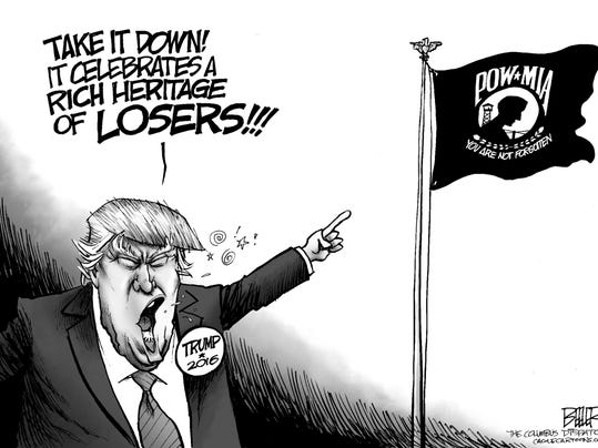 Image result for Trump, War CARTOON