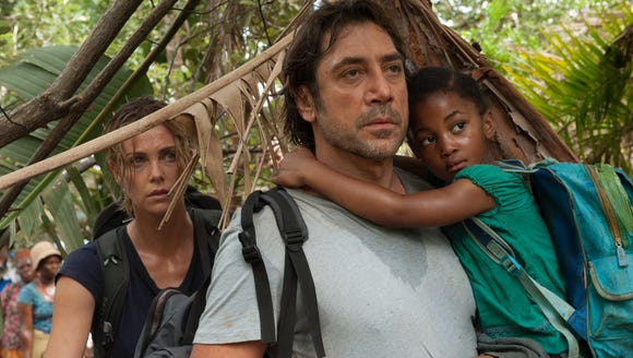 Charlize Theron and Javier Bardem star in 'The Last