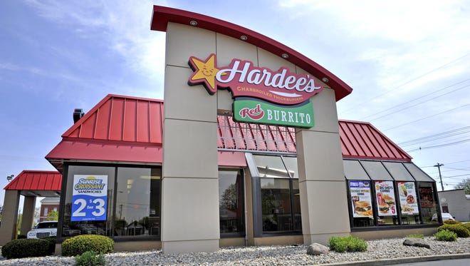 Hardee's announced plans this week to open a second location in Lafayette, even as the first location on Sagamore Parkway North is under construction. This Hardee's pictured here is in Lebanon.