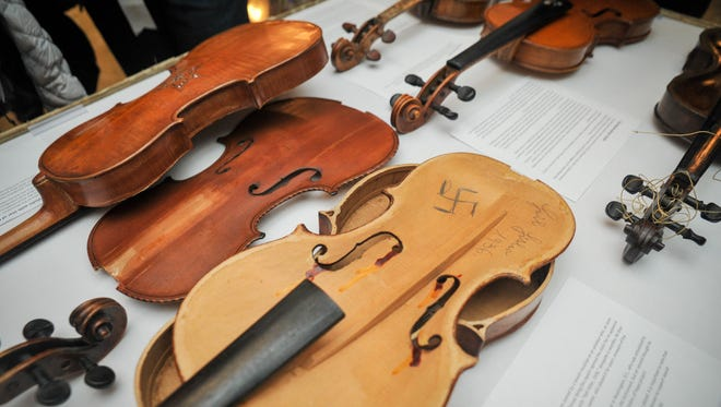 The Violins of Hope, instruments played by Jewish musicians during the Holocaust, are in Nashville as part of a community-wide series of events to facilitate conversation about art, social justice and expression. After losing much of his family to massacre, master luthier Amnon Weinstein and his son, Avshalom, have dedicated their lives to collecting and restoring these instruments.