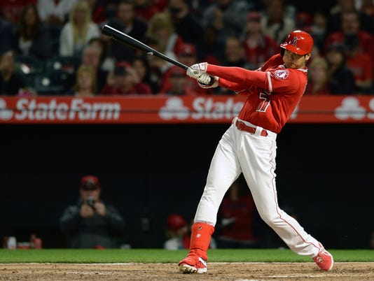 MLB: Oakland Athletics at Los Angeles Angels