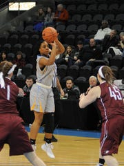 Nneka Nnadi is having a solid senior season for the nationally ranked University of Great Falls women's basketball team.
