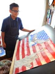 Trae Steele, a fifth grader at Crockett Elementary,