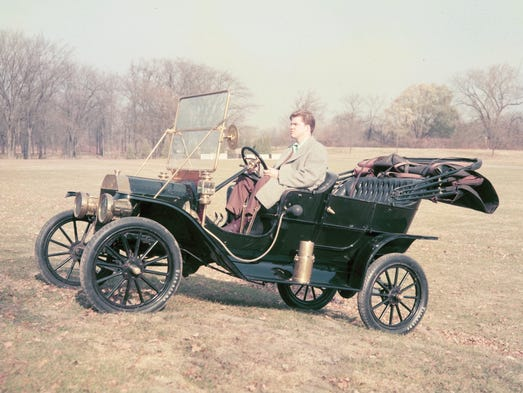 1908 Ford Model T.