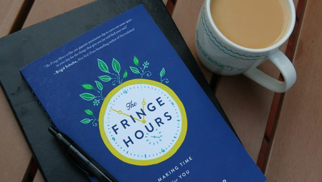 Learn to take advantage of the fringe hours, such as time spent waiting for appointments, to do something you love, like read a book.