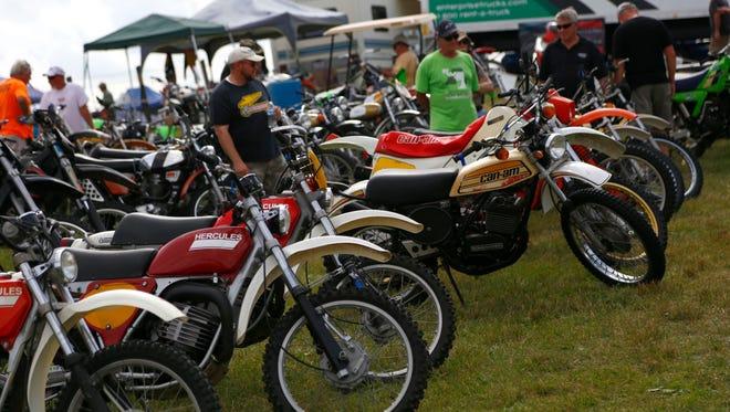The American Association of Motorcyclist will host their annual Vintage Motorcycle Days at Mid-Ohio Sports Car Course in Lexington this weekend. The event featured races, special guests and a swap meet.