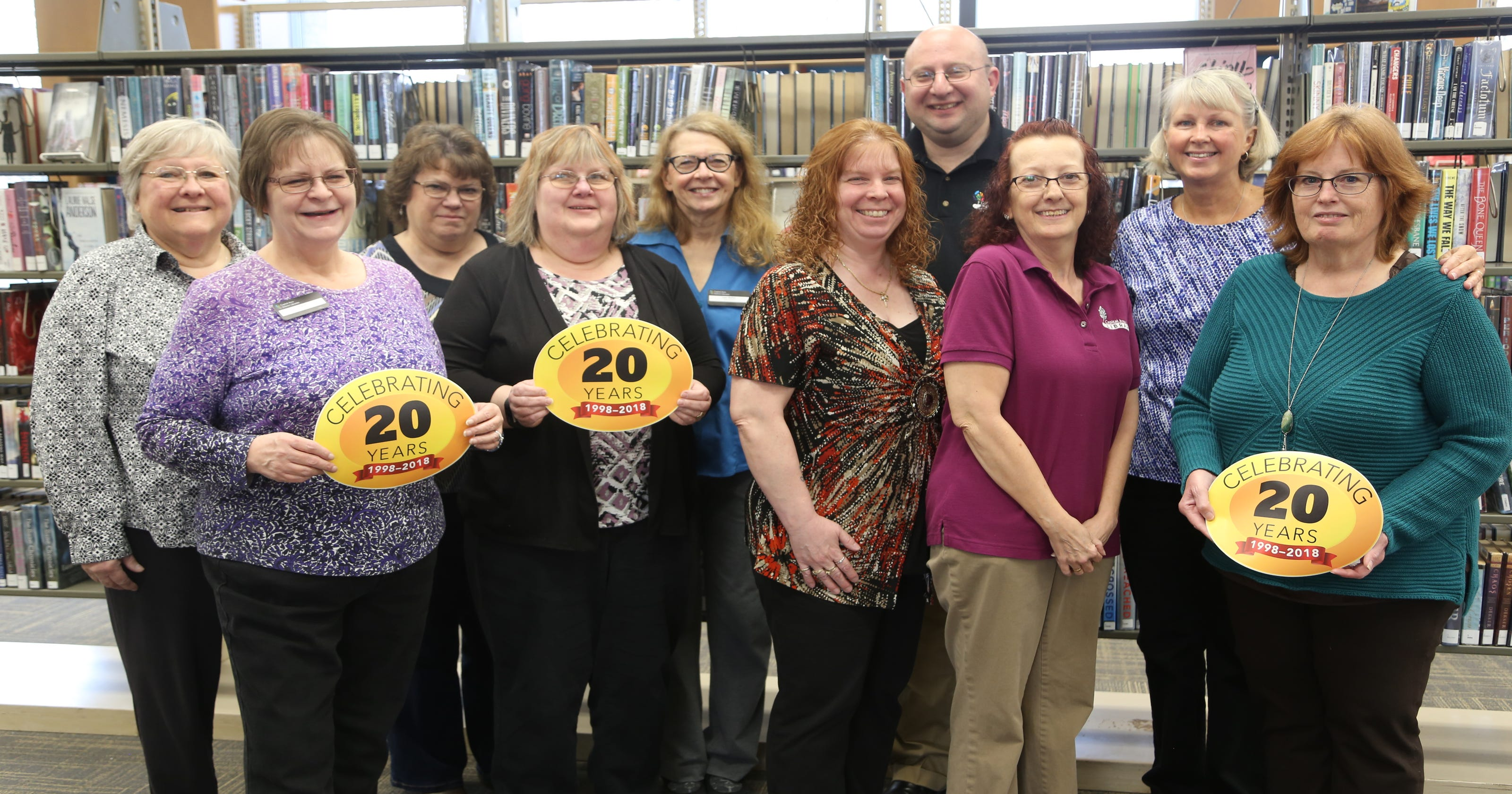CADL shares 20 titles from 20 years serving Greater Lansing