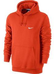 Orange hoodie by Nike, $45 at Kohl's