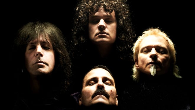 Almost Queen returns to the Stone Pony in Asbury Park on Saturday night.