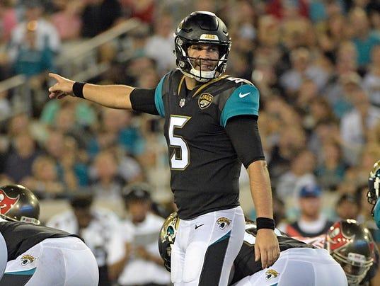 Jaguars Qb Job Up For Grabs After Blake Bortles Struggles