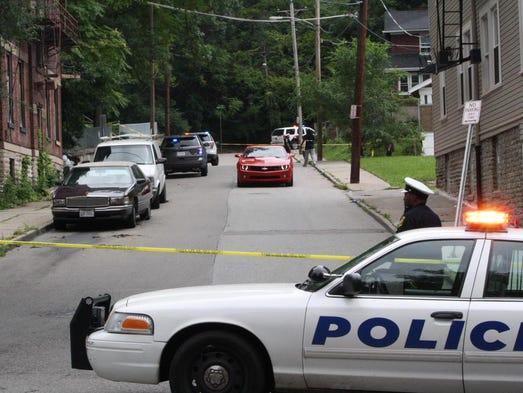 Cincinnati and University of Cincinnati police investigate