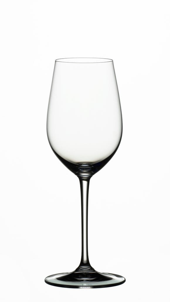 Riedel's Vinum Riesling/ Sauvignon Blanc glass.