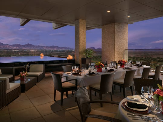 Orange Sky Bar at Talking Stick Resort.