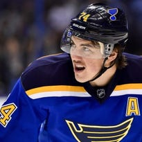 T.J. Oshie committed to hockey, Alzheimer's research