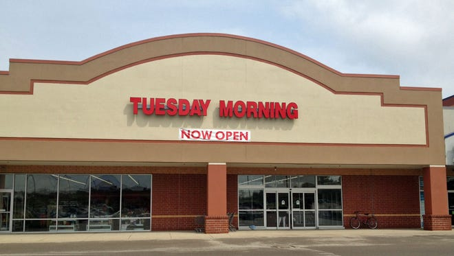 Tuesday Morning opened Aug. 12 in Mason's Governor's Pointe shopping center.