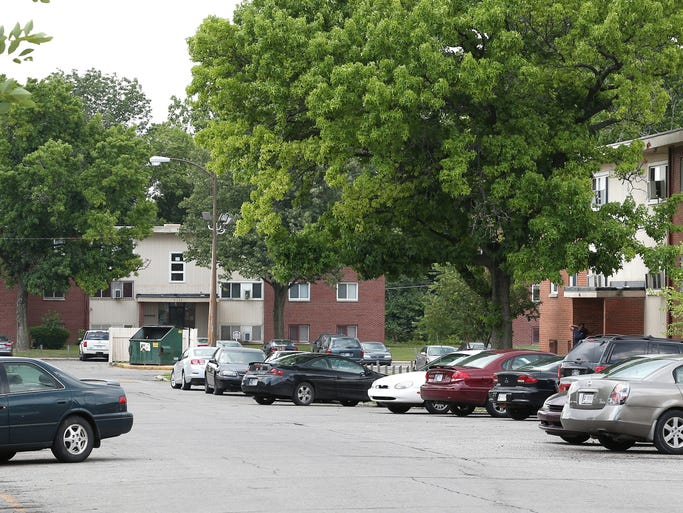 The Phoenix Apartments seen here is going to be sold and torn down by UNEC Development Corp. The corporation has already built two charter schools, a YMCA, a mixed use apartment complex and other buildings on a sprawling campus North of 38th Street in Indianapolis.