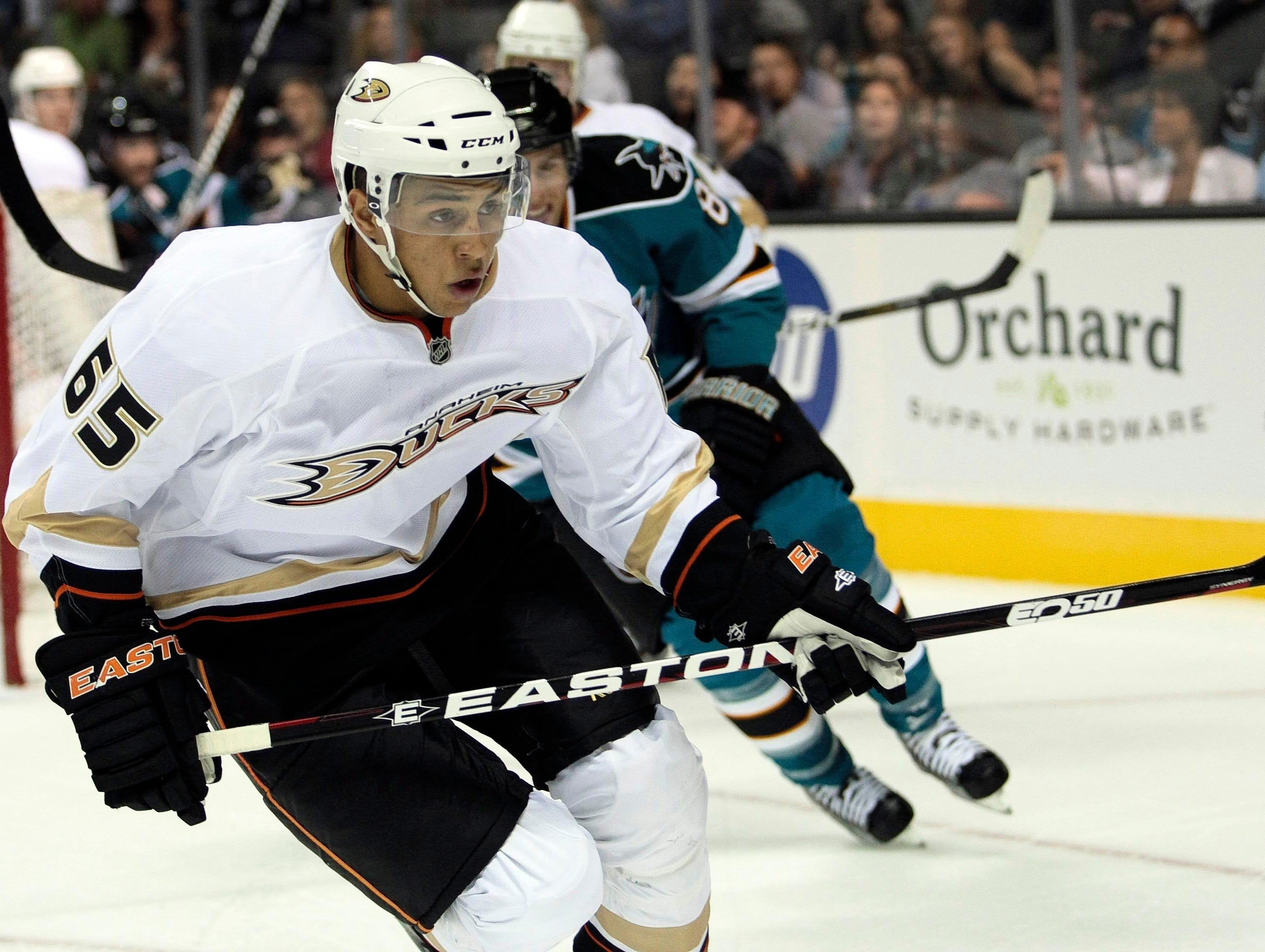 Fellow Californian Emerson Etem was also taken in the first round, by the Ducks, during that draft.