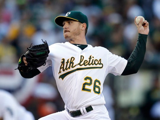 Oakland Athletics and former Biscuits pitcher Scott Kazmir will serve in the American League bullpen during the MLB All-Star Game.