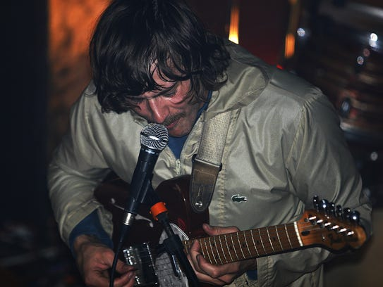 """Singer-guitarist John Baldwin Gourley leads Portugal. The Man, returning to Coachella after their breakthrough hit, """"Feel It Still."""""""