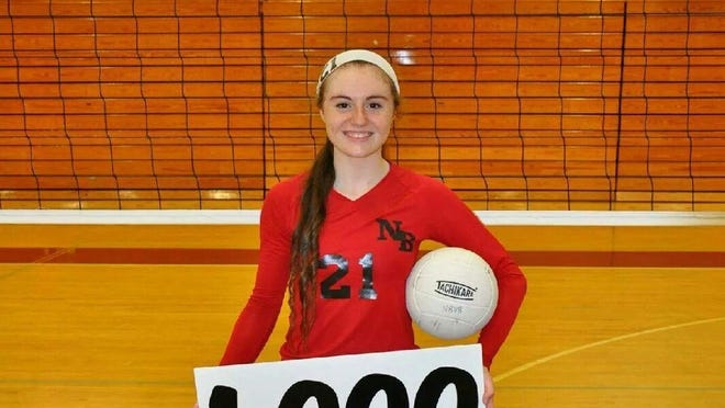 North Buncombe volleyball player Morgan Ballard is the Citizen-Times/Western North Carolina Fall Sports Athlete of the Week.
