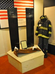 The Liberty Bell Memorial Museum in Melbourne features an I-beam from the World Trade Center as the centerpiece of the museum's Sept. 11 display.