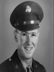 World War II veteran Arthur Gay Jr. during his time