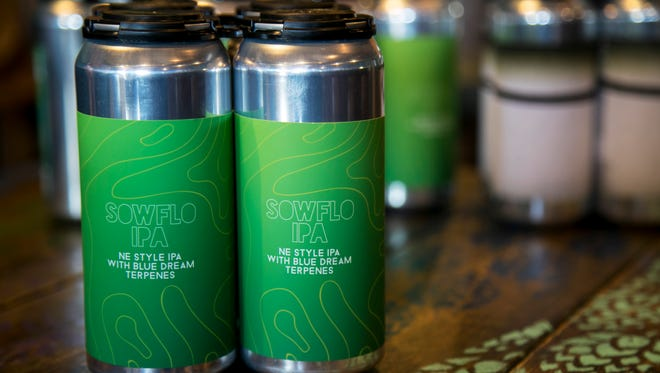Point Ybel brewed a specialty beer, in collaboration with the local band SOWFLO, using marijuana terpenes, which are basically the essential oils of the plant that give it its distinct aromas.