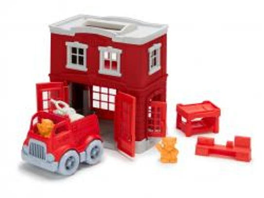 This fun all-in-one playset is sure to entertain your