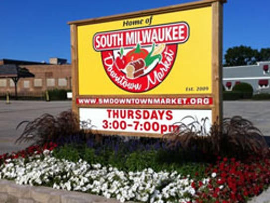 The South Milwaukee Downtown Farmers Market.