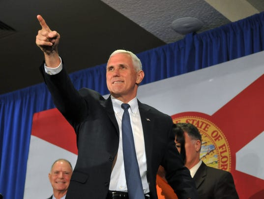 Mike Pence in Cocoa