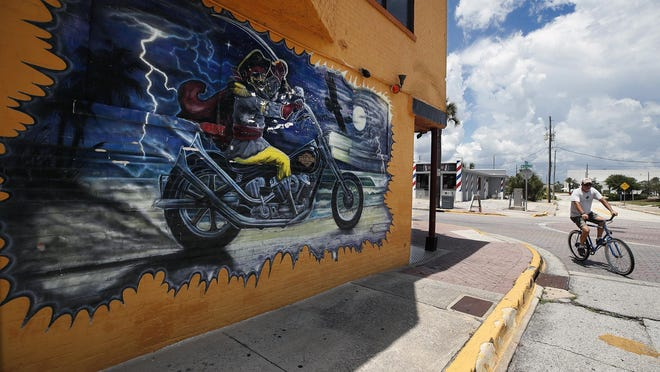 Daytona Beach's Main Street corridor has been emptier than usual since the coronavirus started spreading in March.