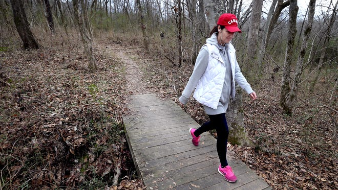 Hiking trails at Barfield Crescent Park are part of Murfreesboro's recreational offerings. The city is working on adding 73 acres to the 430 acre park, with a focus on conservation and environmental education.