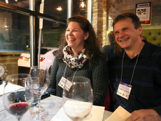 Tracey and Myron Kuzemczak of Yonkers at 273 Kitchen
