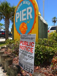 The Cocoa Beach Pier is requesting a variance from