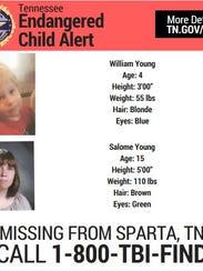 Endangered Children Alert