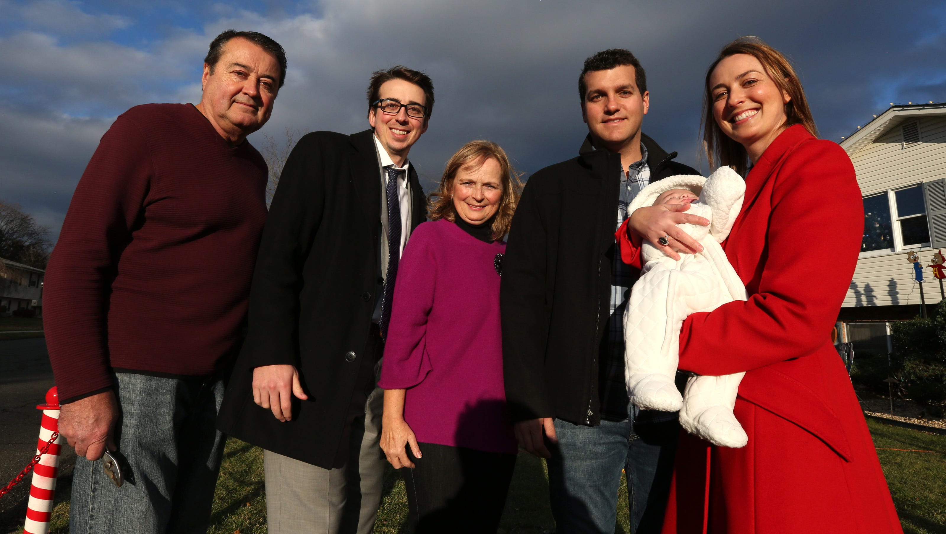 Miracle baby brings light back to Valley Cottage Christmas House