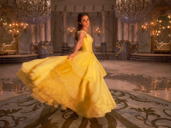 Emma Watson as Belle in a 'Beauty and the Beast.'