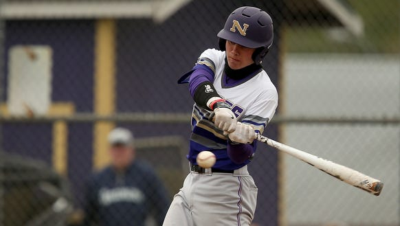 North Kitsap's Ryan Hecker leads the team with a .509