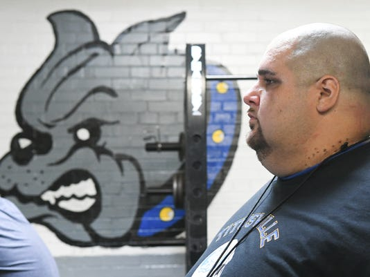 Titusville High Football Coach Andrew Capuano