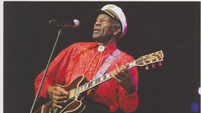 Chuck Berry is considered one of rock 'n' roll's architects.